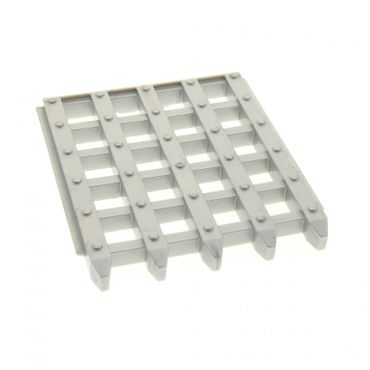 1 x Lego brick Pearl Light Gray Duplo Door Sliding Grille 6 x 7 for Set 4785 51702