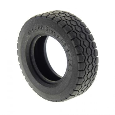 1 x Lego brick black Tire 68.8 x 24 for Set 5571 5563 32003
