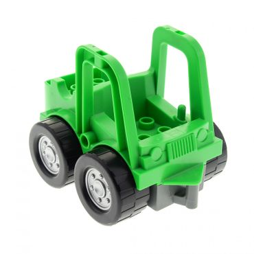 1 x Lego brick bright green Duplo Street Sweeper for Set 4978 4506396 41927