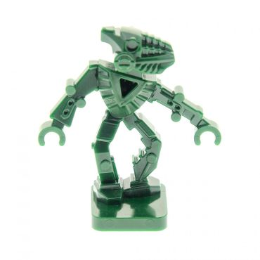 1 x Lego System Figur Bionicle Mini - Toa Hordika Matau dunkel grün Set 8759 8758 8757 8769 51636