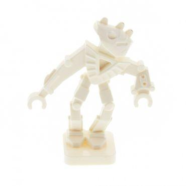 1 x Lego System Figur Bionicle Mini - Toa Hordika Nuju weiss Set 8759 8758 8757 8769 51640