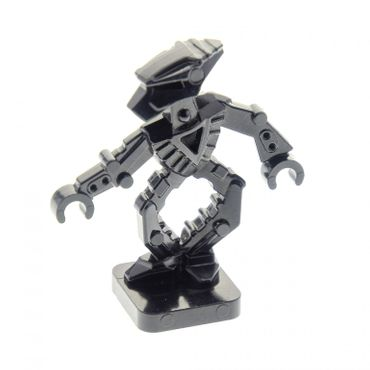 1 x Lego brick dark black Bionicle Mini - Toa Hordika Whenua for Set 8759 8758 8757 8769 51635