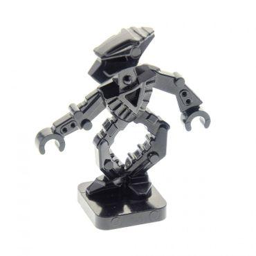 1 x Lego System Figur Bionicle Mini - Toa Hordika Whenua schwarz Set 8759 8758 8757 8769 51635