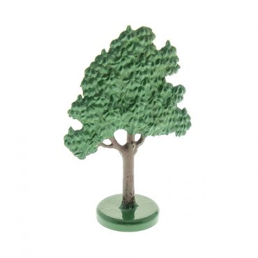 1 x Lego brick Green Plant Tree Flat Fruit painted with hollow base FTFruitH