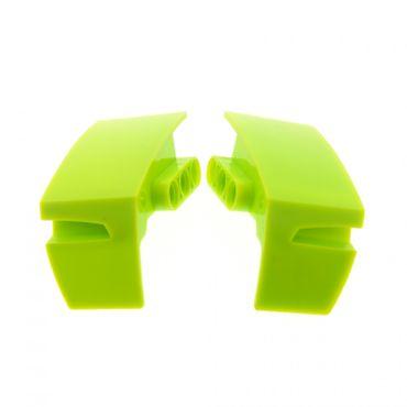 1 x Lego Technic Radkasten Set lime hell grün rechts links Kotflügel Radkästen Schutzblech Rad Abdeckung 4518816 4518814 61071 61070
