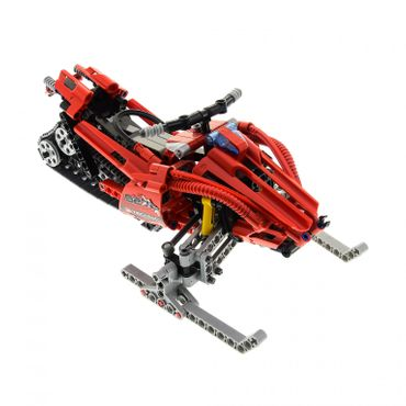1 x Lego Technic Set Modell 8272 Schneemobil rot Off-Road Bulldozer Snowmobile Technik incomplete unvollständig
