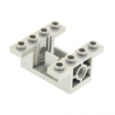 1 x Lego Technic Getriebe Halter alt-hell grau 4 x 4 x 1 2/3 Zahnrad Box Gearbox für Set 8286 8230 8456 (06585) 6585