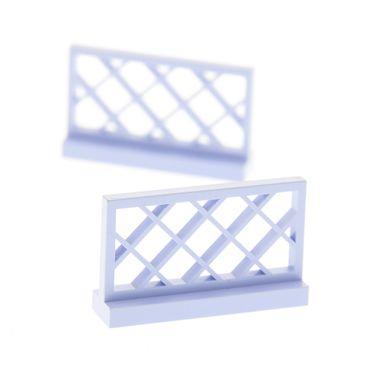 2 x Lego bricks light violet Fence gate 1 x 4 x 2  for Set Belville 5840 3185