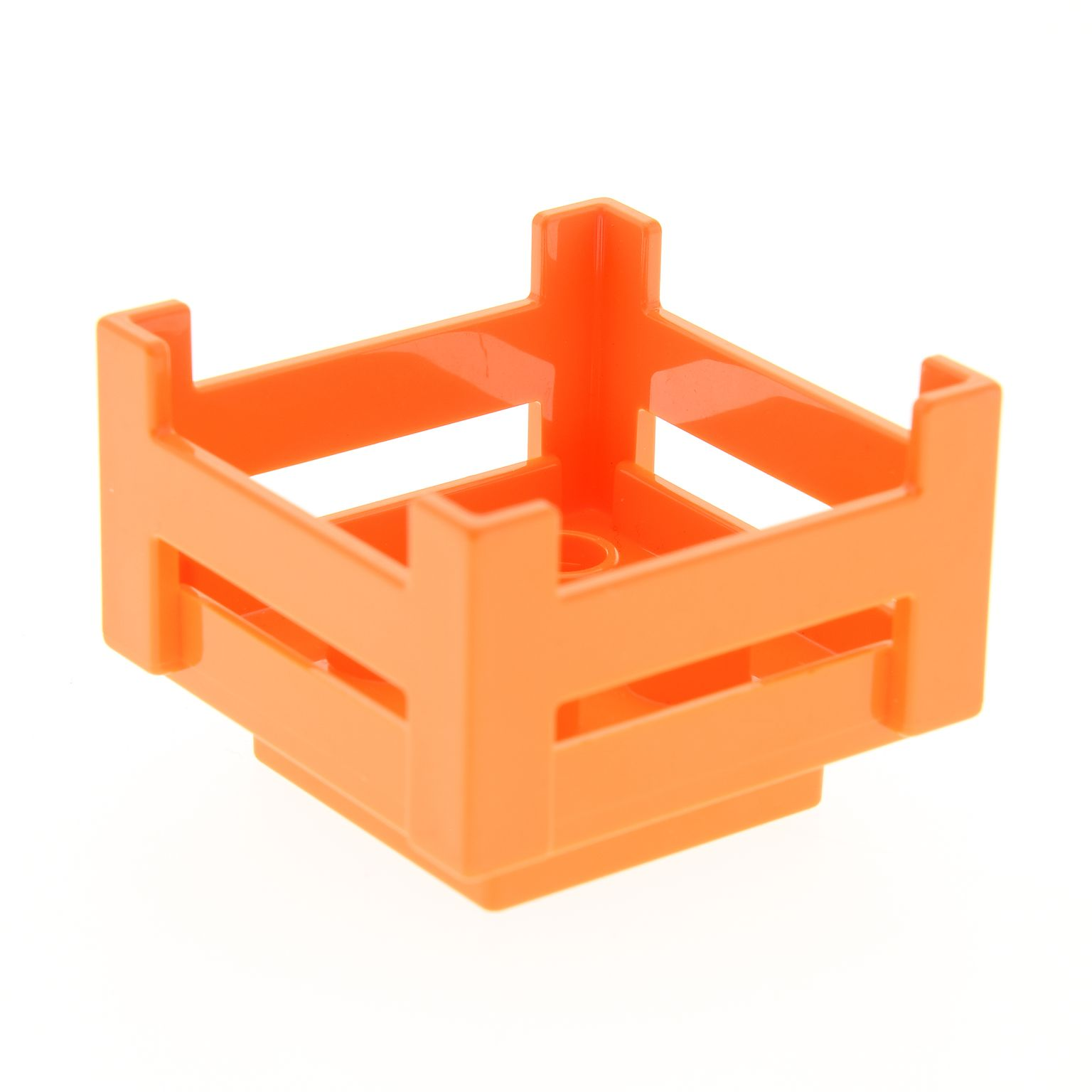 1 X Lego Duplo Mobel Kiste Orange Korb Container Puppenhaus Zoo