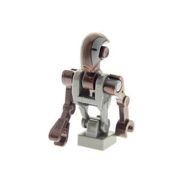 1 x Lego System Figur Torso Oberkörper Star Wars Droide FA-4 Pilot Droid dunkel braun grau Episode 2 75023 75017 sw473*