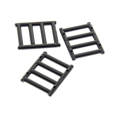 3 x Lego brick Bar 1 x 4 x 3 with End Protrusions 21137 71016 70413 10246 10247 62113