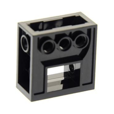 1 x Lego brick black Technic Gearbox 2 x 4 x 3 1/3 Star Wars Set 7191 1349 6588 32239