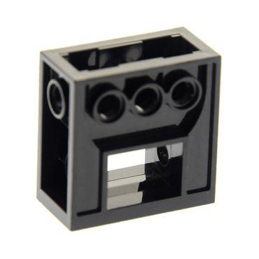 1 x Lego Technic Getriebe Halter schwarz 2x4x3 1/3  Zahnrad Box Gearbox Star Wars Set 7191 1349  6588 32239