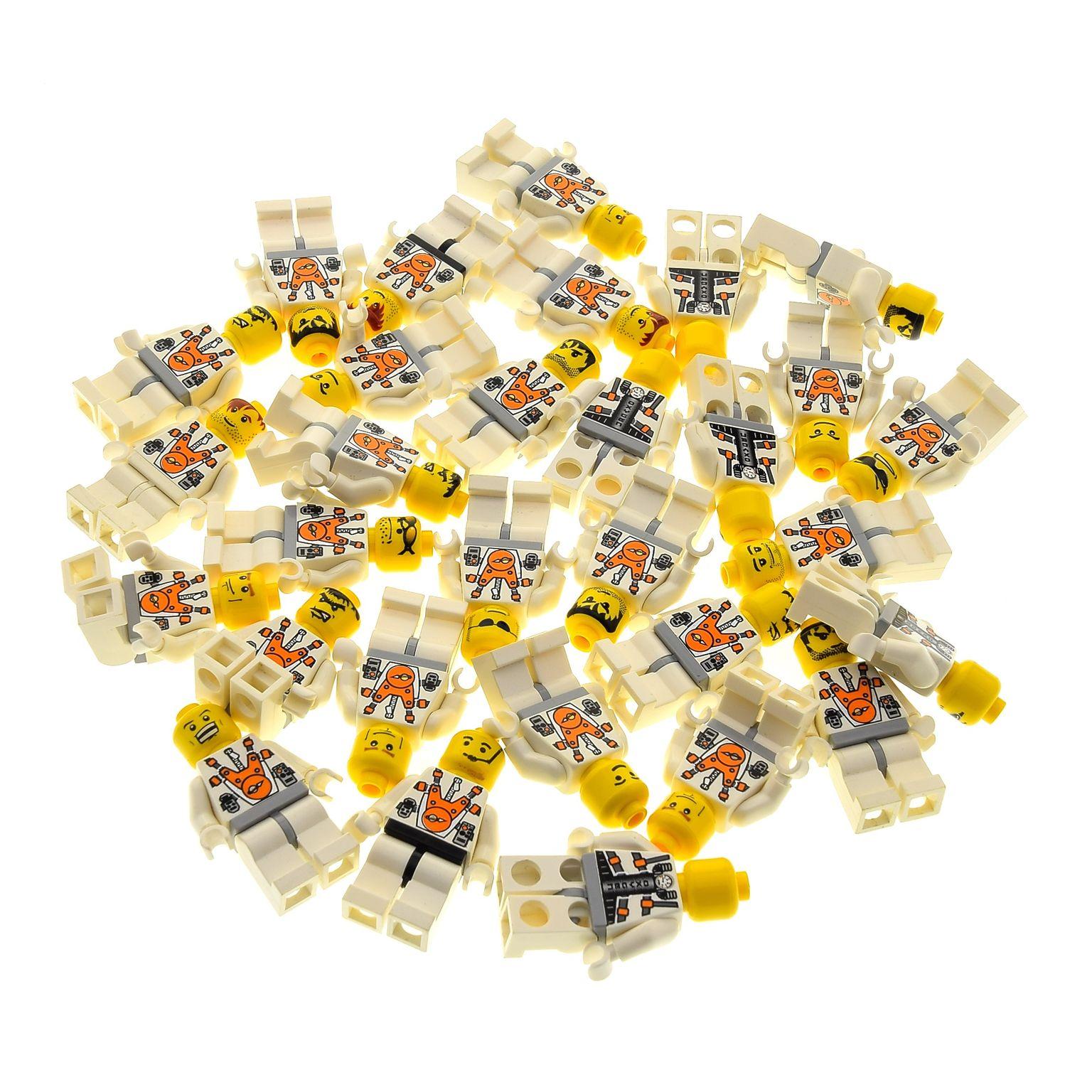 5 X Lego System City Mini Figuren Astronaut Space Weltraum Torso