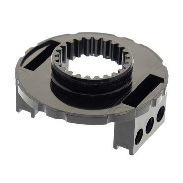 1 x Lego brick black Technic Turntable Large Type 1 Base 2856c03 2856c02 7249 7905 8480 2856