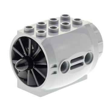 1 x Lego brick light bluish gray Engine , Large Aircraft black Engine, Large, Center, 10 Blades 43121 x577
