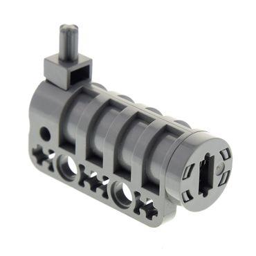 1 x Lego Technic Kanone neu-dunkel grau Schiff Boot Burg Castle Batman für Set 9648 7783 7782 32074c01