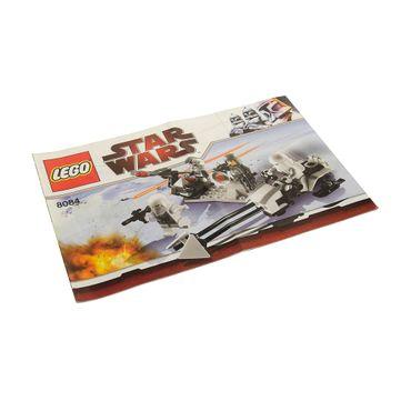 1 x Lego System Bauanleitung  A5  für Set Star Wars Episode 4/5/6 Snowtrooper Battle Pack 8084