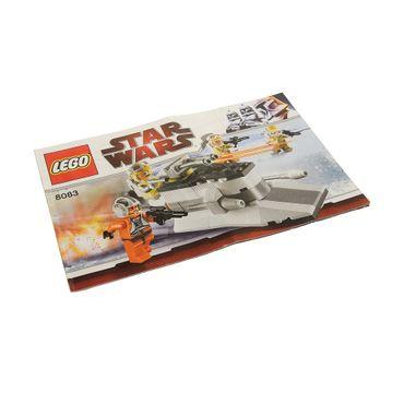 1 x Lego System Bauanleitung  A5 für Set Star Wars Episode 4/5/6 Rebel Trooper Battle Pack 8083