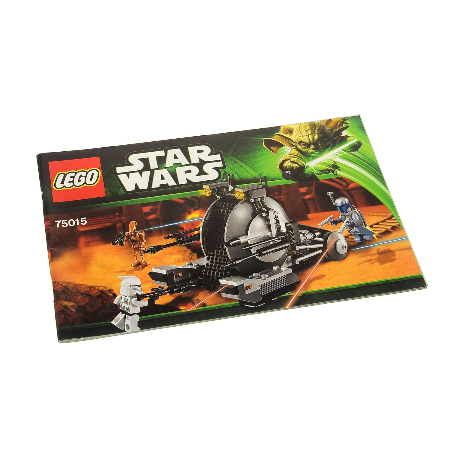 1 X Lego Brick Instructions For Set Star Wars Episode 2 Corporate