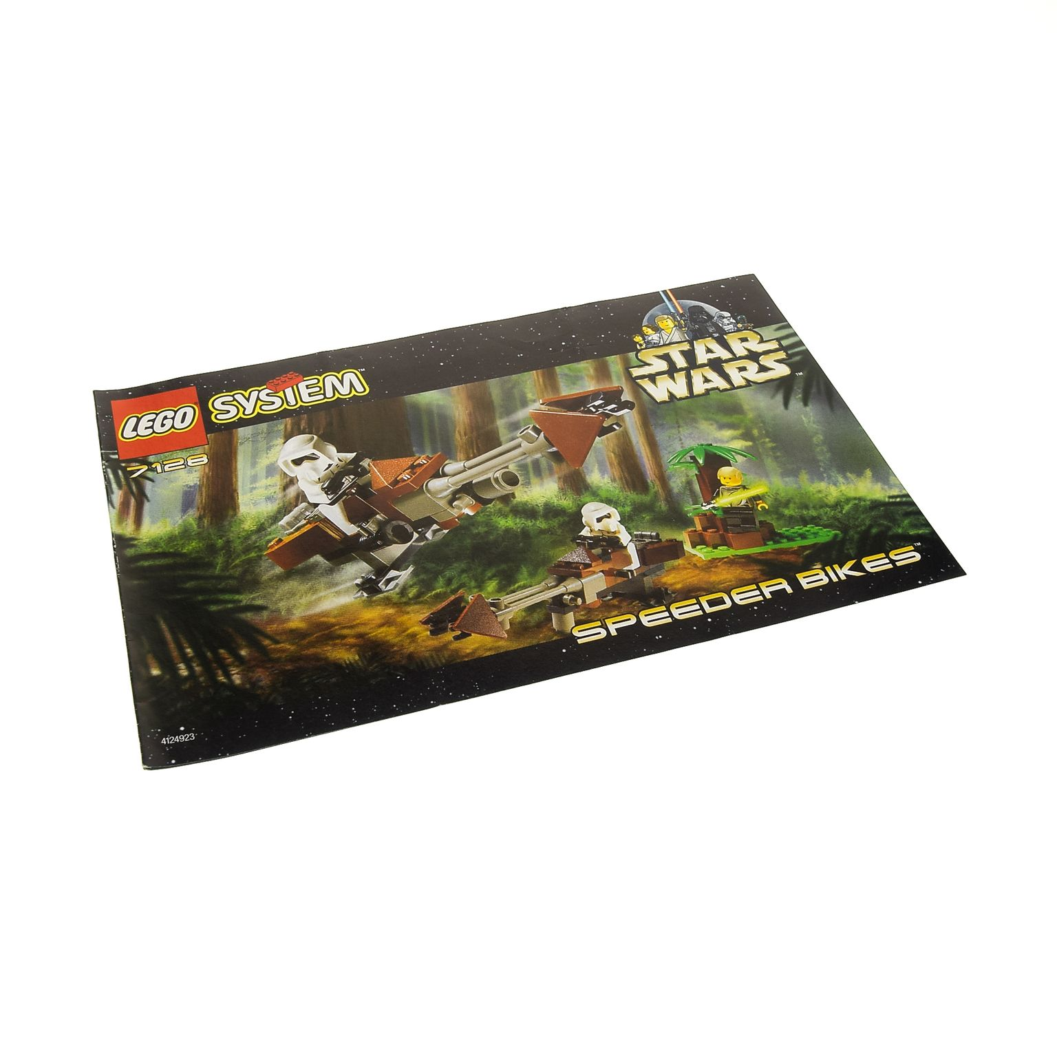 1 X Lego Brick Instructions For Set Star Wars Episode 4 5 6 Speeder Skeleton Tower 7093 Bikes 7128