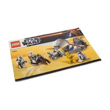 1 x Lego System Bauanleitung  A5  für Star Wars Episode 4/5/6 Droid Escape 9490
