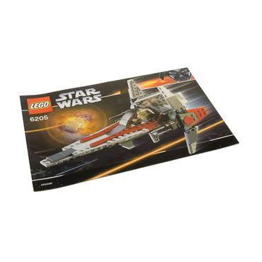 1 X Lego Brick Instructions For Set Star Wars Episode 3 V Wing
