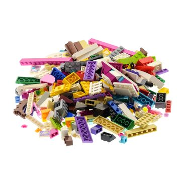 200 parts Lego brick Stones Basic Special Stones Kiloware 0,30 kg special stones colors mixed e.g. pink beige azure blue white violet red yellow pink supplement for Lego Friends Lego Elves – Bild 3