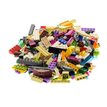 200 parts Lego brick Stones Basic Special Stones Kiloware 0,30 kg special stones colors mixed e.g. pink beige azure blue white violet red yellow pink supplement for Lego Friends Lego Elves – Bild 4