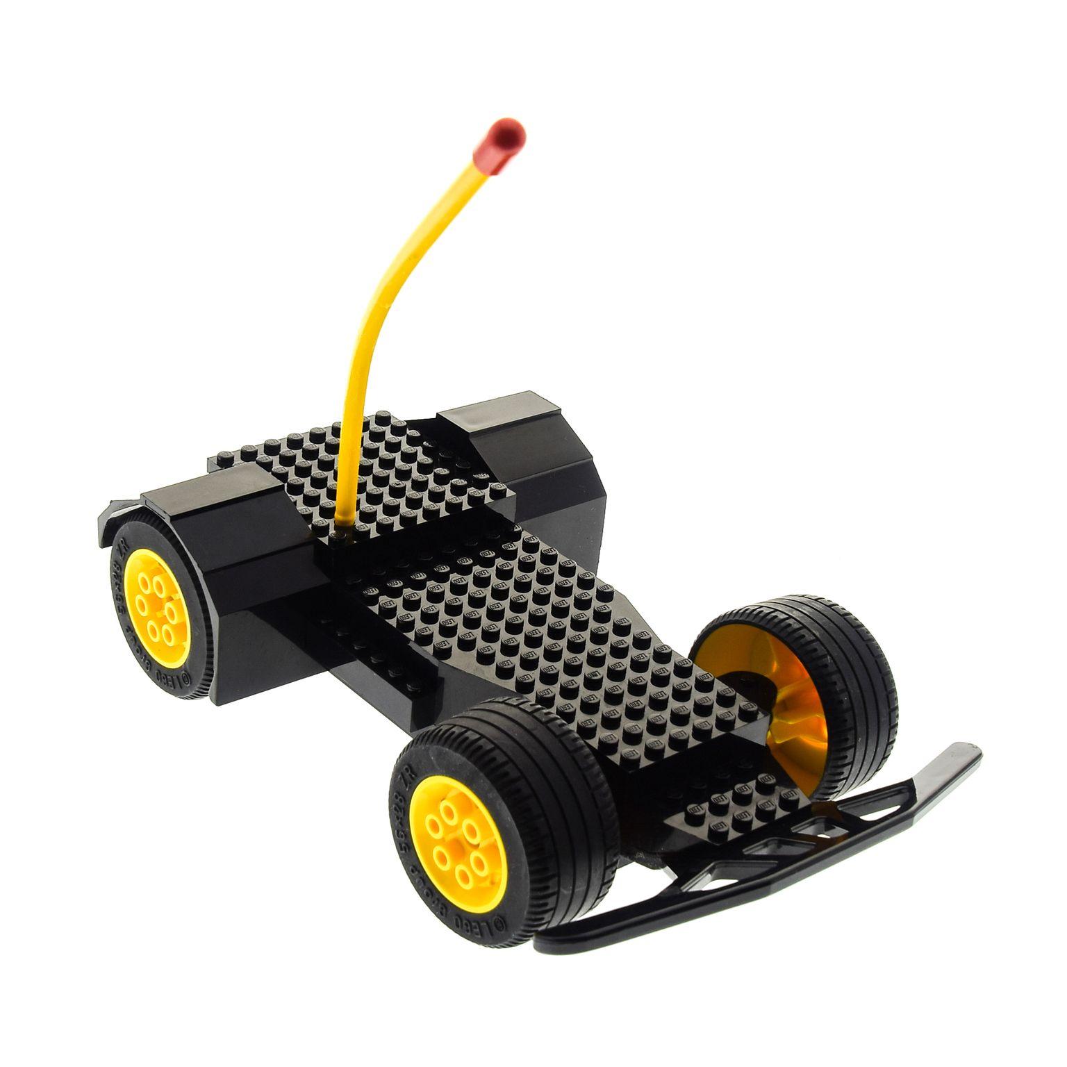 1 X Lego Brick Black Electric Rc Car Base Sets 5599 5600