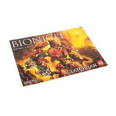1 x Lego Bionicle Bauanleitung  A5  für Set Glatorian Malum 8979