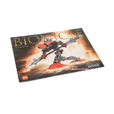 1 x Lego Bionicle Bauanleitung A5  für Set Turahk 8592