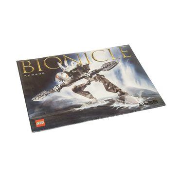 1 x Lego Bionicle Bauanleitung  A5  für Set Kurahk 8588