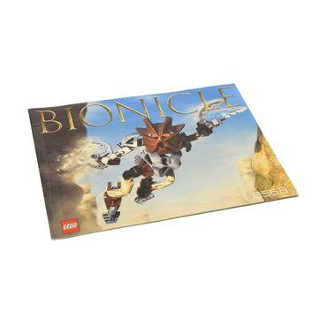 1 x Lego Bionicle Bauanleitung  A5  für Set Pohatu Nuva 8568