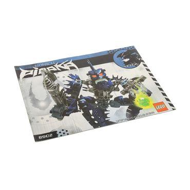 1 x Lego Bionicle Bauanleitung A5 für Set Piraka Vezok 8902