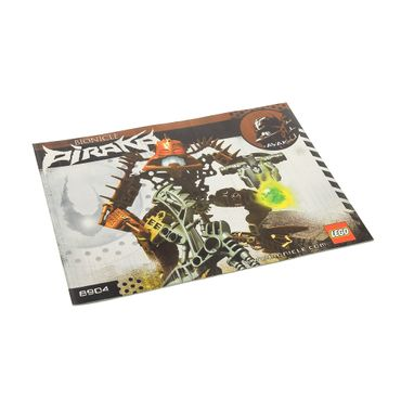 1 x Lego Bionicle Bauanleitung A5 für Set Piraka Avak 8904