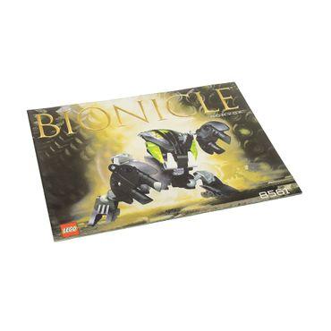 1 x Lego Bionicle Bauanleitung A5 für Set Nuhvok 8561