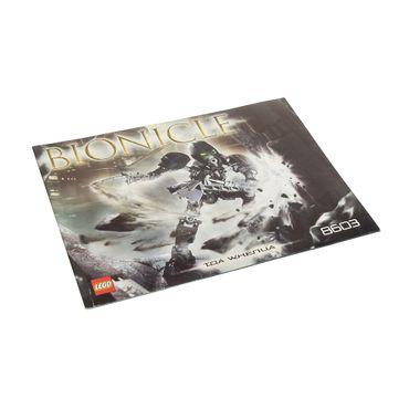 1 x Lego Bionicle Bauanleitung A5 für Set Toa Whenua 8603