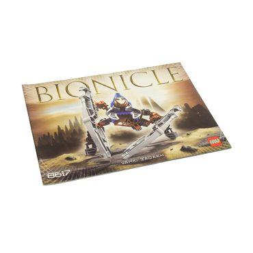1 x Lego Bionicle Bauanleitung A5 für Set Vahki Zadakh 8617