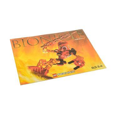 1 x Lego Bionicle Bauanleitung A5 für Set Tahu 8534