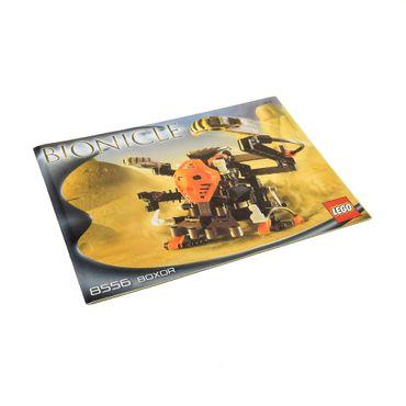 1 x Lego Bionicle Bauanleitung A5 für Set Boxor 8556