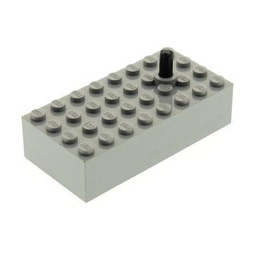 1 x Lego System Eisenbahn Zug manueller Signal Umschalter 4x8x1 2/3 alt-hell grau Box für Set 7856 73112