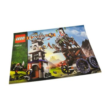 1 x Lego brick Instructions Castle Fantasy Era Tower Raid Booklet 2 7037