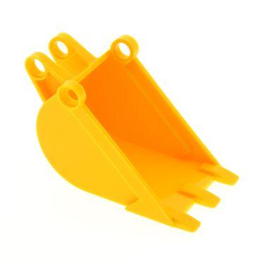 1 x Lego Technic Bagger Schaufel gelb 4 x 4 x 9 4x4x9 Technik Set 8455 2950