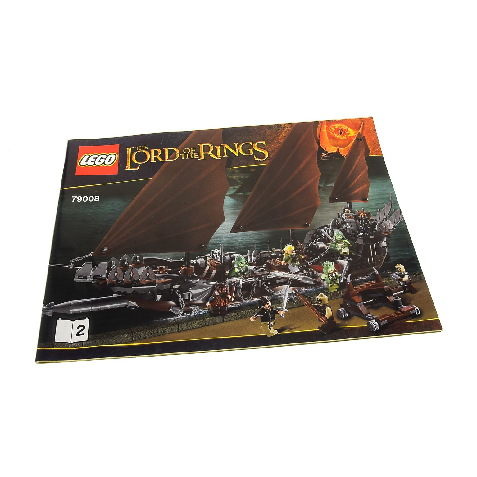 1 X Lego Brick Instructions The Lord Of The Rings Pirate Ship Ambush