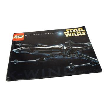 1 X Lego Brick Instructions Star Wars X Wing Fighter Ucs 7191