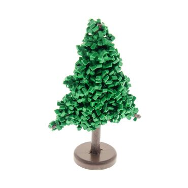 1 x Lego brick Green Plant, Tree Granulated Pine