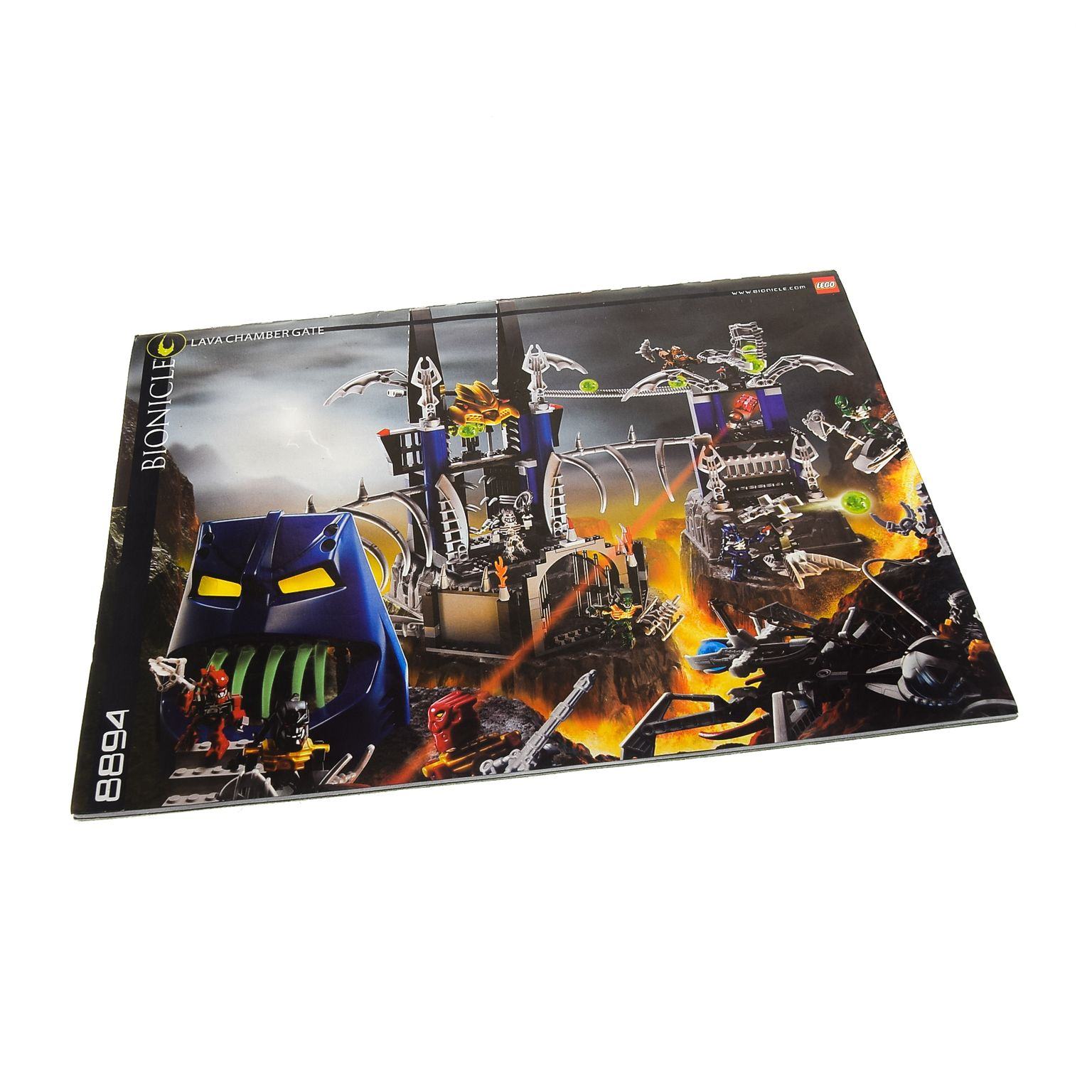 1 X Lego Bionicle Bauanleitung A4 Piraka Festung 8894