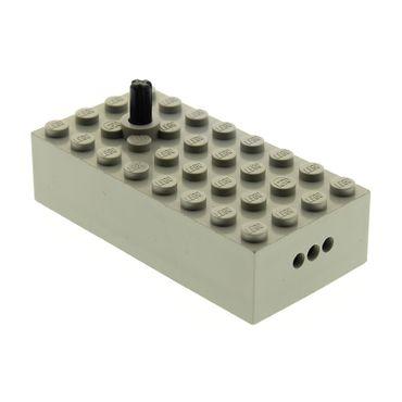1 x Lego  System Electric Eisenbahn Zug Signal Umschalter 4x8x1 2/3 alt-hell grau Box Elektrik geprüft für Set 7866 7858 7859 7863 7862  70026