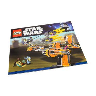 1 x Lego System Bauanleitung A4 Star Wars Anakin's und Sebulba's Podracers 7962